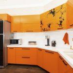Белые столешницы кухонного гарнитура