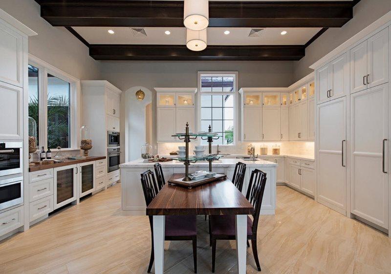 Организация комфортного освещения в современной кухне