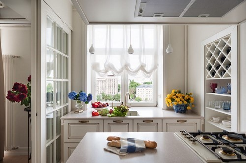 Принцип расположения всех предметов на кухне