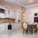 Кухонный стулья с овальными спинками