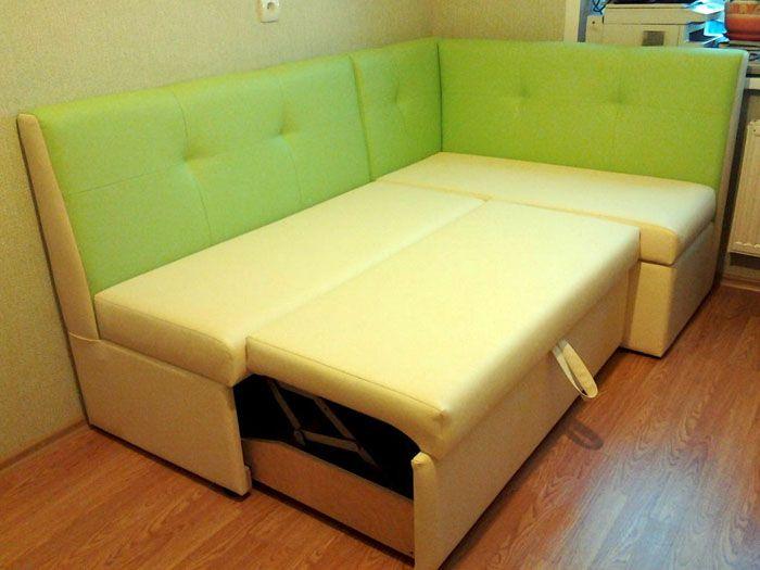 Выдвижное спальное место в кухонном уголке
