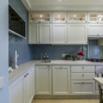 Подсветка верхних шкафов кухонного гарнитура