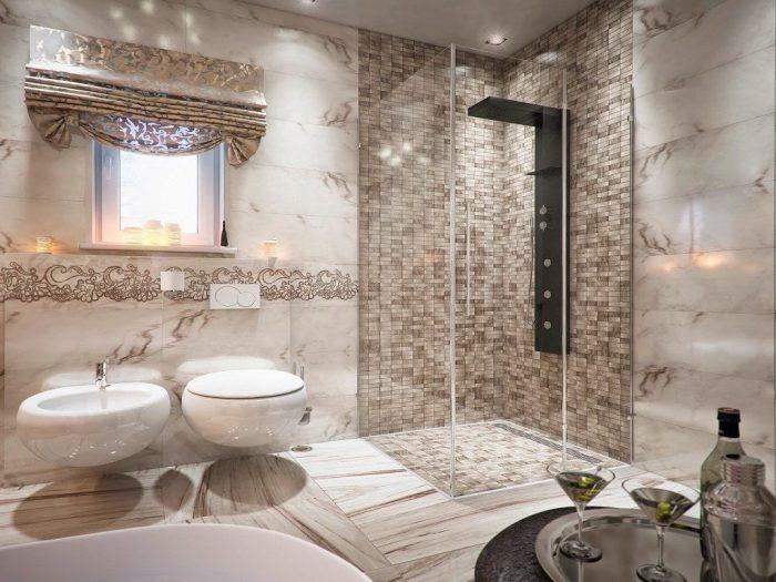 Ванная комната дизайн.