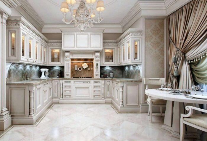 Классическая кухня.