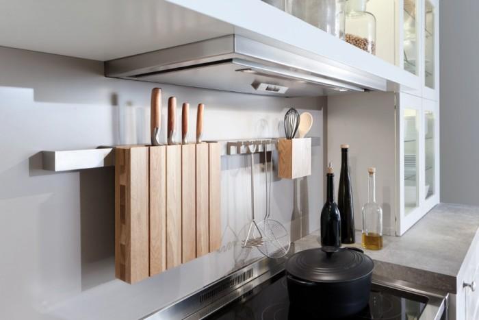 Рабочее пространство на кухне.