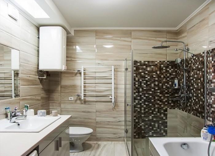 Ванная в современном стиле.