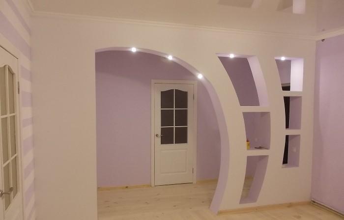 Ассиметричная арка.