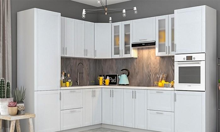Модульная кухня в интерьере.