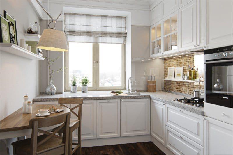 Декорирование кухни в панельном доме