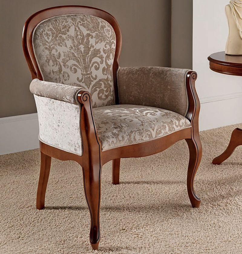 Мягкий кухонный стул с удобными подлокотниками