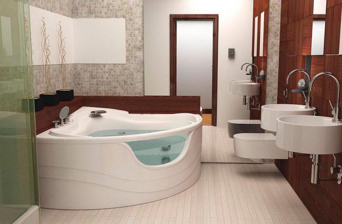Как выбрать угловую ванну.