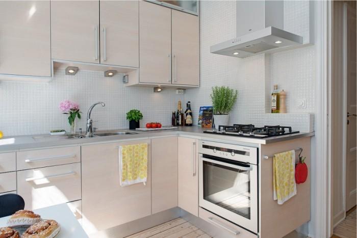 Функциональная мебель на кухне.