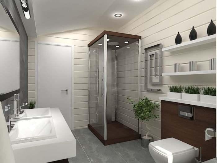 Дизайн ванной.