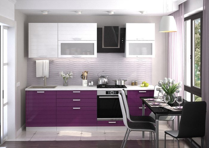 Кухня модульная дизайн.