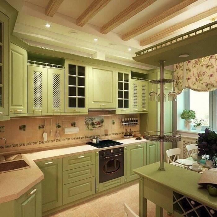 Фисташковая кухня.