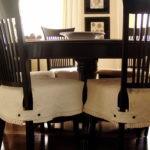 Накидки с застежками на сидение стула