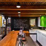 Дизайн кухни с грифельной доской