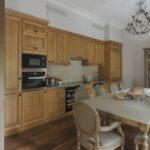 Кухонный стул с овальной спинкой