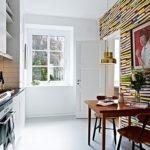 3D-обои в интерьере современной кухни