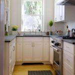 П-образная планировка кухни площадью в 4 кв м