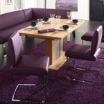 Фиолетовая мебель для современной кухни