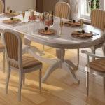 Кухонные стулья с полосатой обивкой
