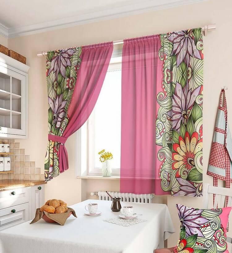 шторы для кухни до пола фото результате дтп