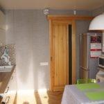 Деревянная дверь сдвижного типа