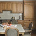 Кухонная мебель с ламинированными фасадами