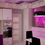 Дизайн освещения в небольшой кухне