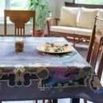 Скатерть для декора стола в этническом стиле