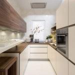 Матовые фасады кухонной мебели