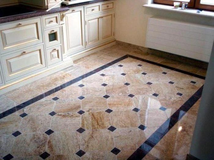 Керамическая плитка на пол.