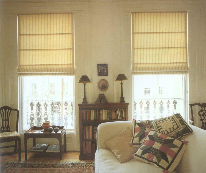Классические римские шторы.