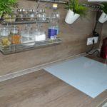 Индукционная варочная панель в современной кухне