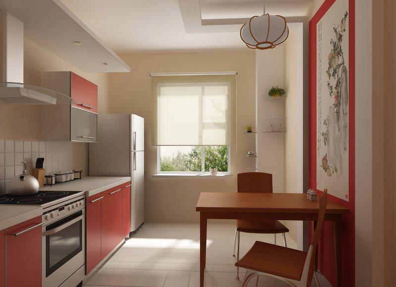 Дизайн кухни в стиле современного японского минимализма