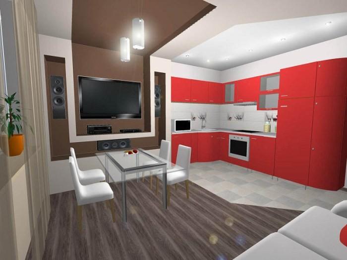 Дизайн кухонного помещения.