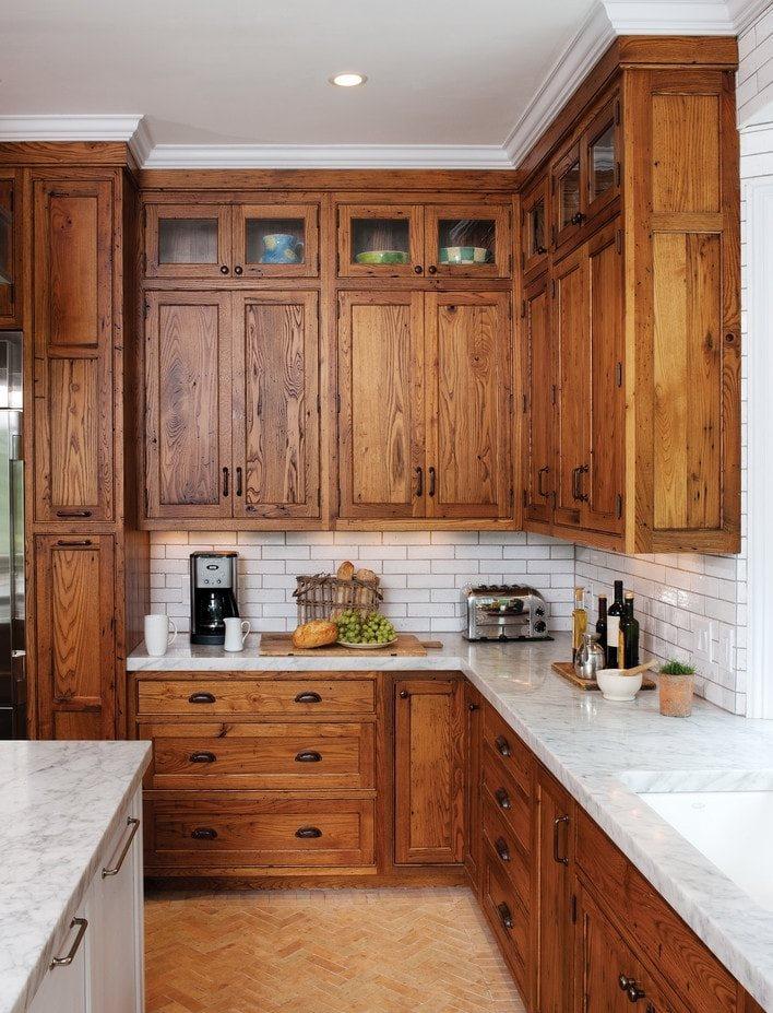 Деревянная мебель для кухни российского производства