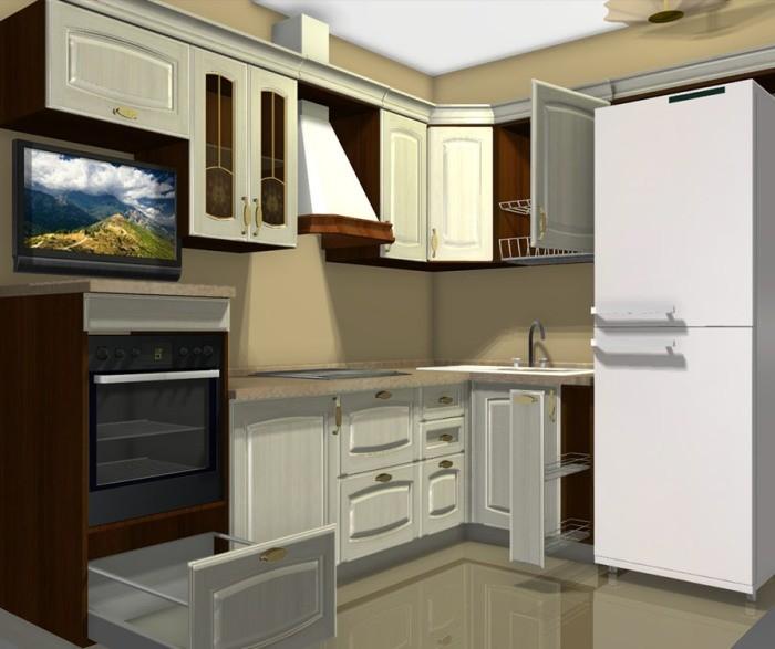 Дизайн-проект кухни.