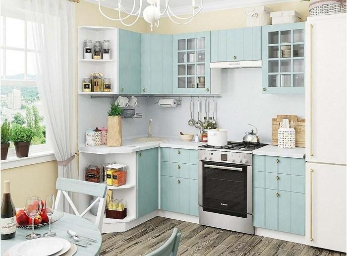 Голубая кухня.
