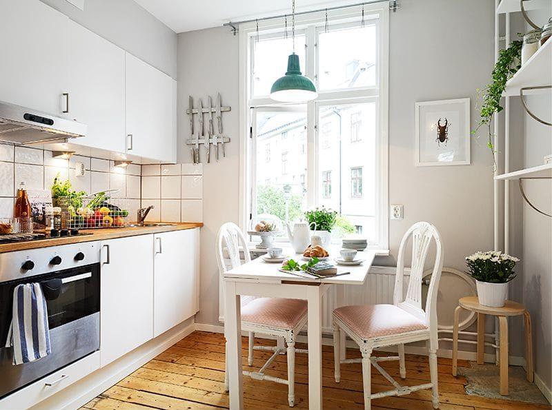 Организация освещения кухни в панельном доме
