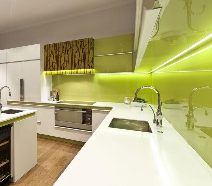 Светодиодная подсветка рабочей зоны кухни