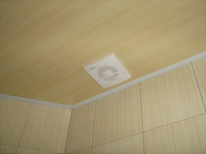 Матовый ПВХ потолок .