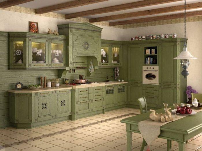 Витражная кухня.