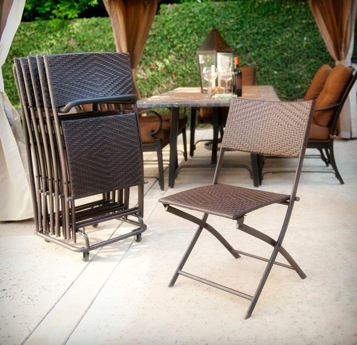 Подставка для хранения складных стульев