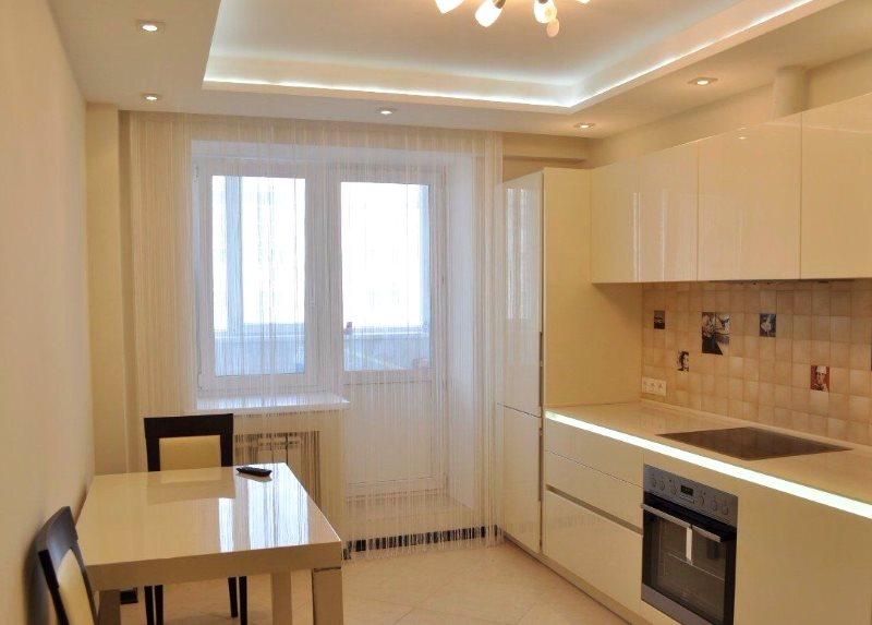 Подсветка потолка кухни из гипсокартона