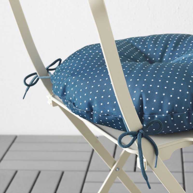 Мягкая подушка на сидение раскладного стула