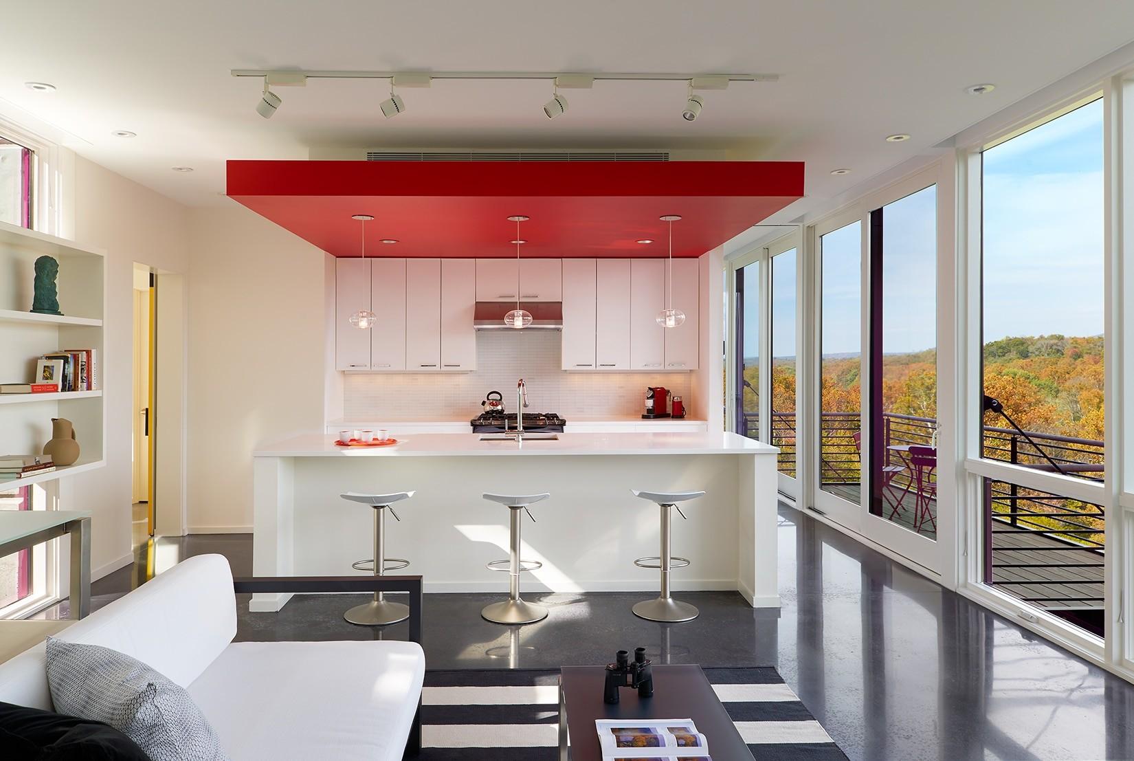 пусть оригинальный потолок из гипсокартона на кухне фото дорогой отель