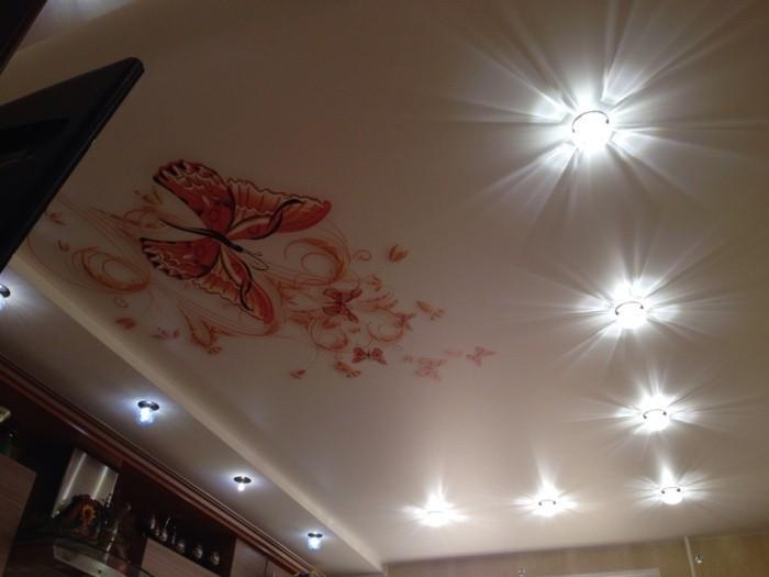 Потолок с фото.