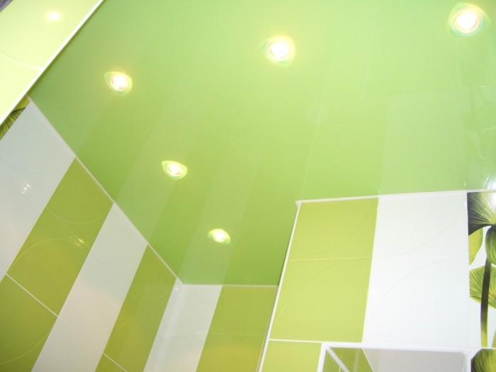 Зеленая ванная.